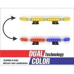 "18"" DUAL COLOR ENFORCER LIGHT BAR"